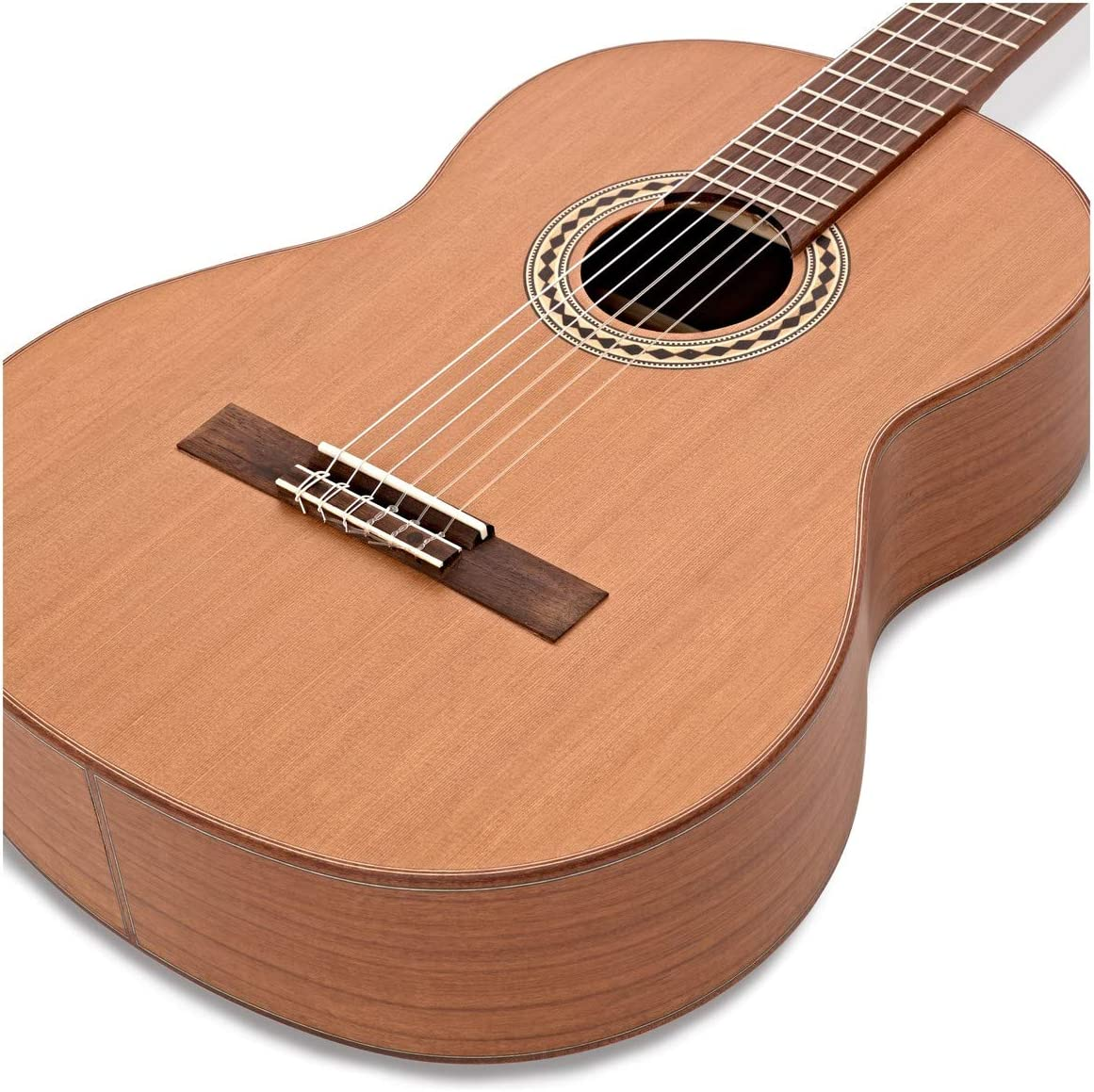 Guitarra Clasica de Doble Tapa Hartwood Libretto: Amazon.es ...
