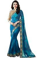 Women's Kalamkari Khadi Silk Designer Saree With Blouse