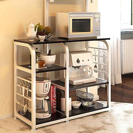 Estante de cocina para microondas y horno, multifuncional ...