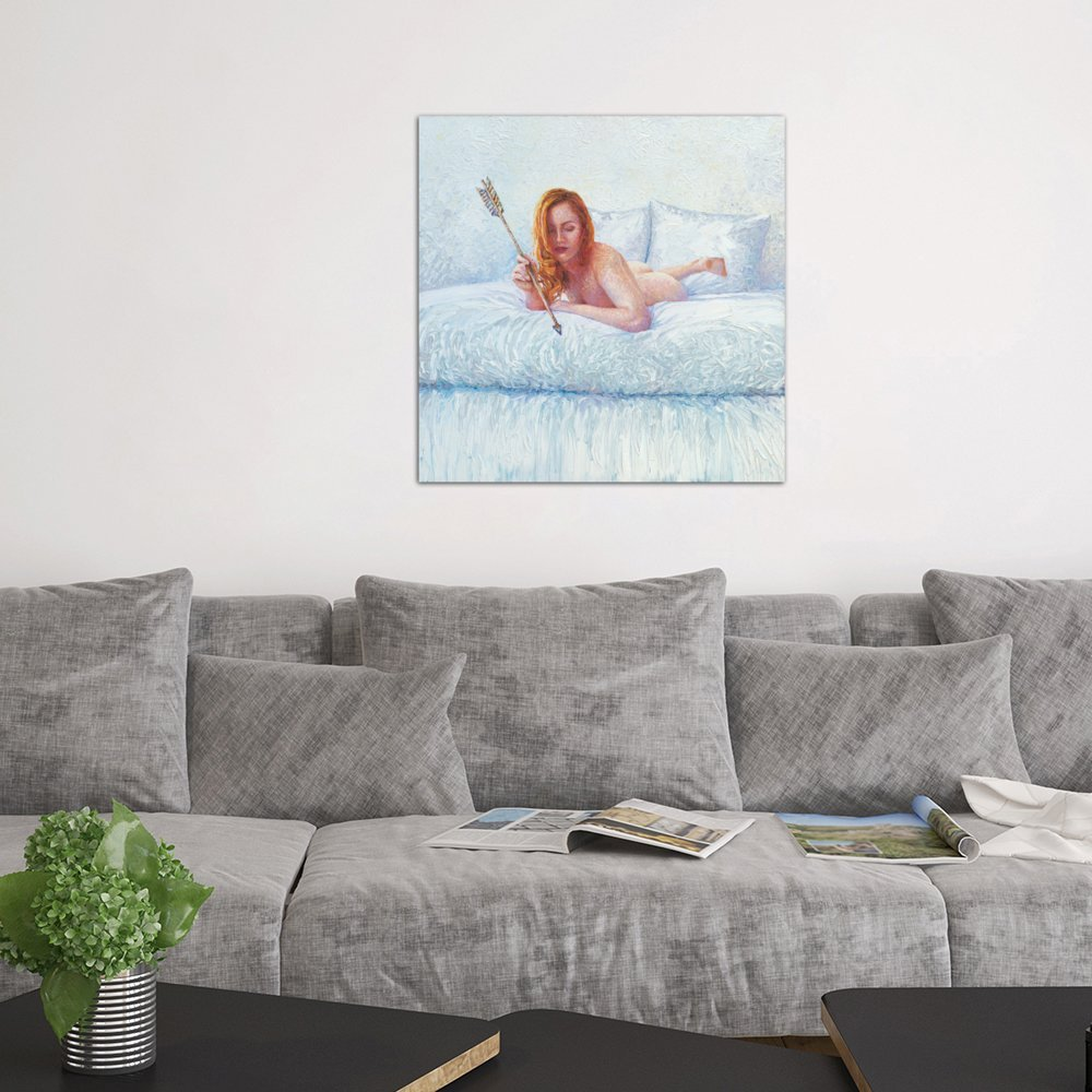51 x 60 Kess InHouse Vasare NAR Creativity is Contagious Lavender Pastel Wall Tapestry