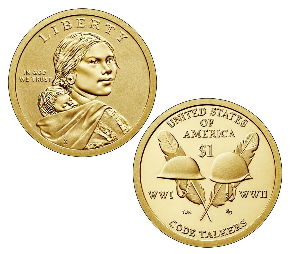 2016 S Sacagawea Coin And Currency Set Enhanced Uncirculated 16RA $1 Uncirculated US Mint