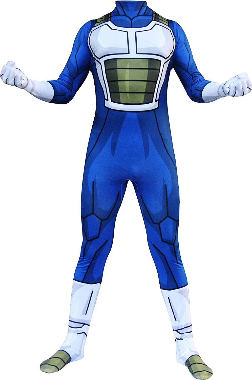 HIHIvia Dragon Ball Z Son Goku Super Saiyan Vegeta Cosplay Disfraz Mono Disfraces Familiares Traje de Carnaval Halloween Navidad para Ni/ños Adultos