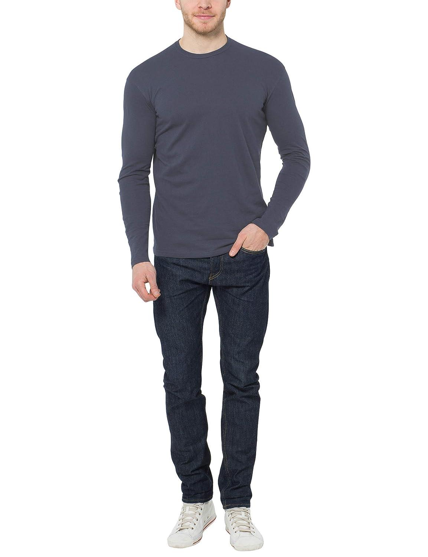 Lower East Mens Le133 Long Sleeve Long-Sleeved Shirt