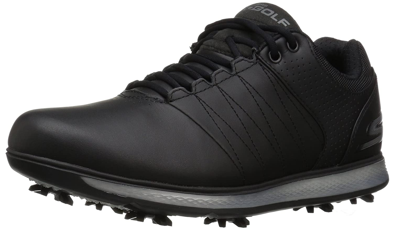 Skechers Performance Men\'s Go Golf Pro 2 Golf Shoe Black/Silver