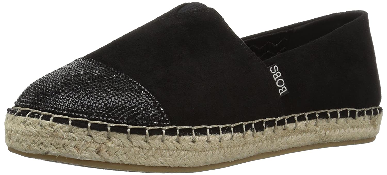 Skechers BOBS from Women's Lowlights - Razzy Dazzy B01N7FTCLR 6 B(M) US|Black