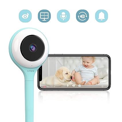 Lollipop - cámara inteligente del bebé (turquesa) - Lollipop Baby Monitor (Turquoise)