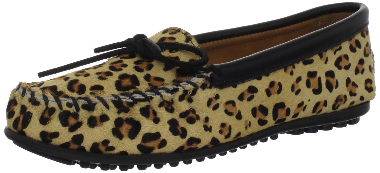 Minnetonka Women's Full Leopard Mocassin