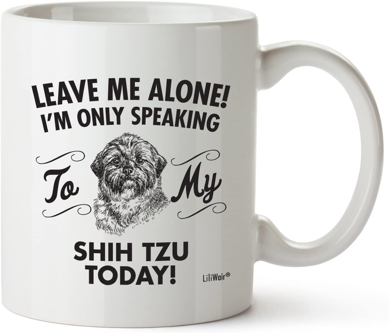 Shih Tzu Mom Gifts Mug For Women Men Dad Decor Lover Decorations Stuff I Love Shih Tzus Coffee Merchandise Accessories Talking Art Apparel Funny Birthday Gift Home Supplies Product Dog Coffee Cup Mugs