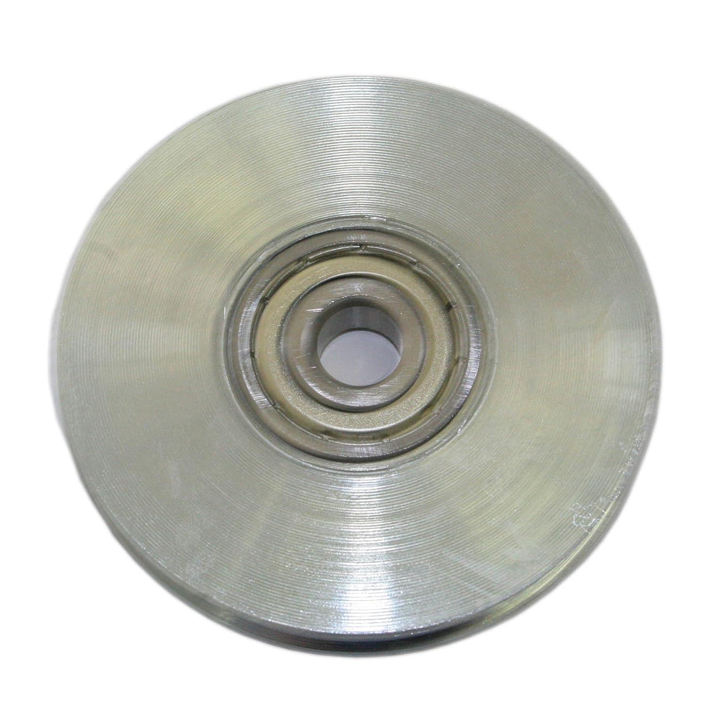 Polea acero 70/mm cuerda 3/mm de di/ámetro Do
