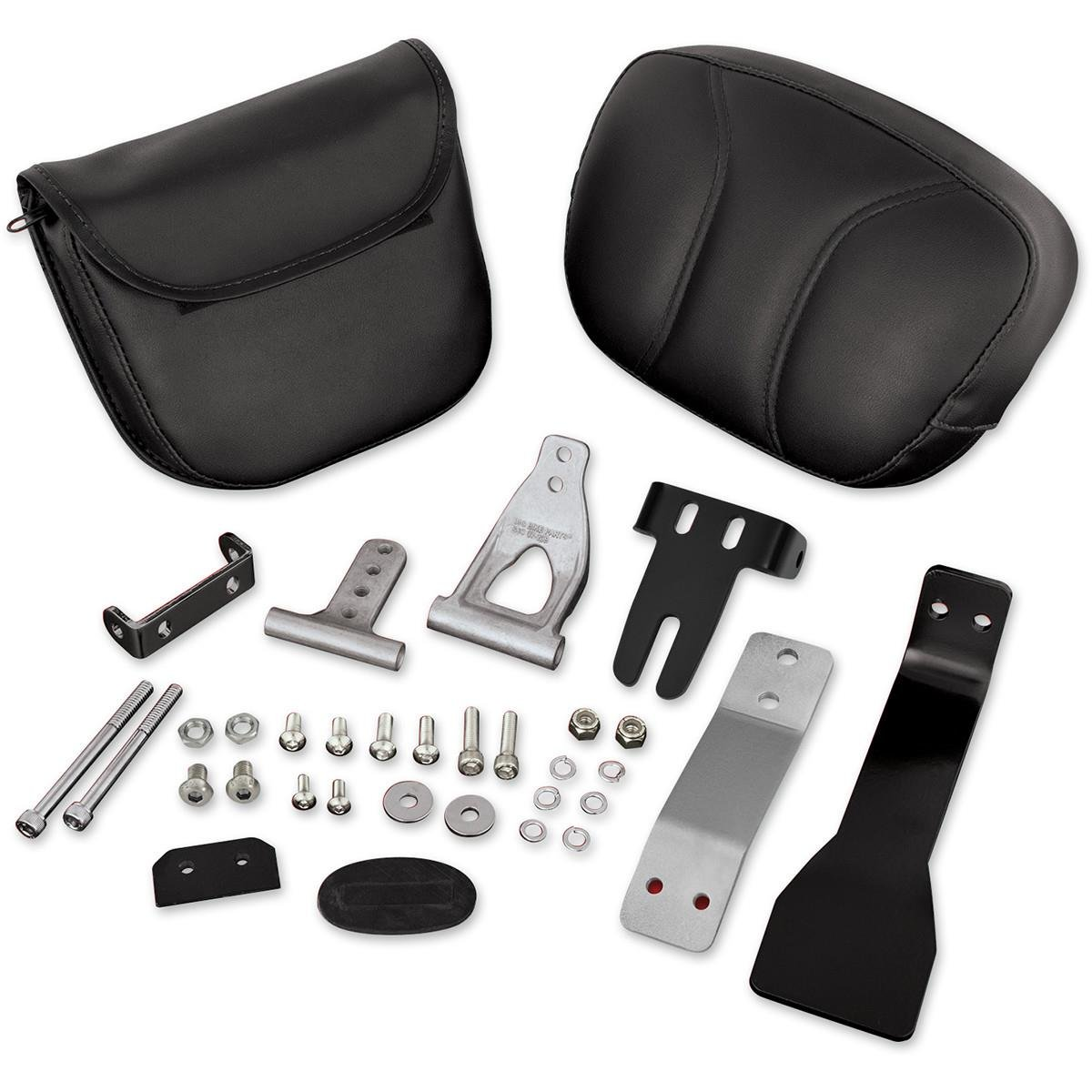 Show Chrome Accessories 41-158A Removable Driver Backrest Can Am Spyder,1 Pack