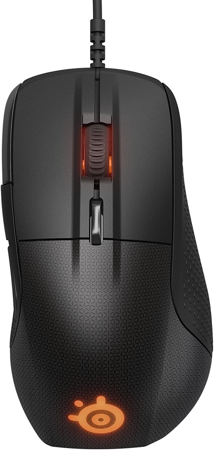 SteelSeries Rival 700 Gaming Mouse - 16,000 CPI Optical Sensor - OLED...