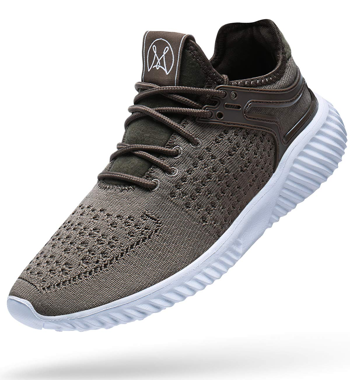 Wonesion Mens Walking Casual Shoes Lightweight Breathable Sneakers Mesh Tennis Gym Running Shoes