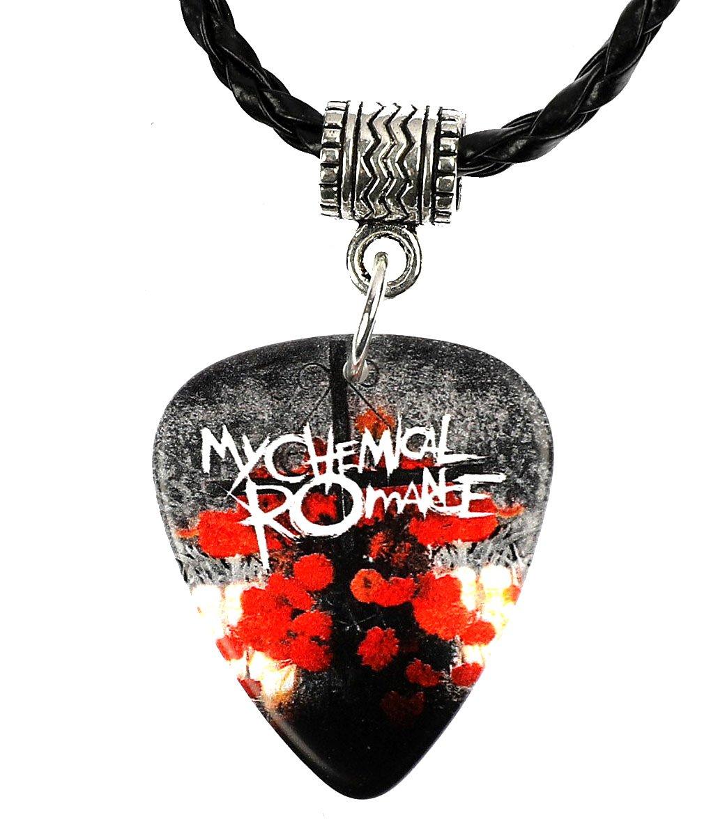 My Chemical Romance médiator de guitare Collier MCR Harmony Guitar Picks