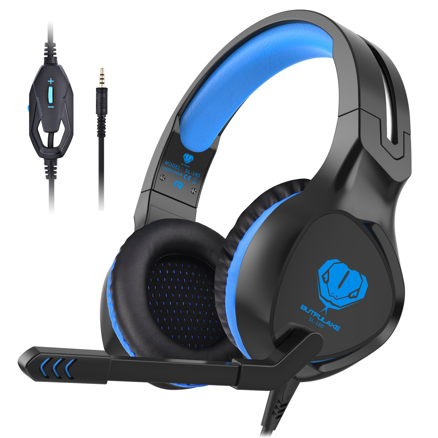 Gaming Headset, Xbox One headset Noice cancelling Headphones with microphones Over ear Gaming headset for PS4, Nintendo Switch, Tablet, PC, Laptop, Mobile Phone