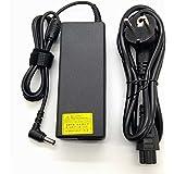 Adaptador Cargador Nuevo Compatible para portátiles Toshiba Satellite A, C, L Series del listado 19V 4,74a o inferior con punta de 5,5mm x 2,5mm