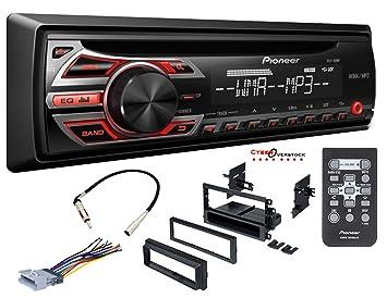 Pioneer coche Radio estéreo reproductor de CD Dash instalar Kit de montaje arnés antena: Amazon.es: Coche y moto