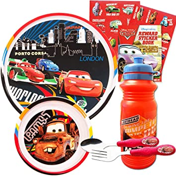 Charitable The First Years Disney/pixar Cars 3 Toddler Bowl Sz Color Without Return Feeding Cups, Dishes & Utensils