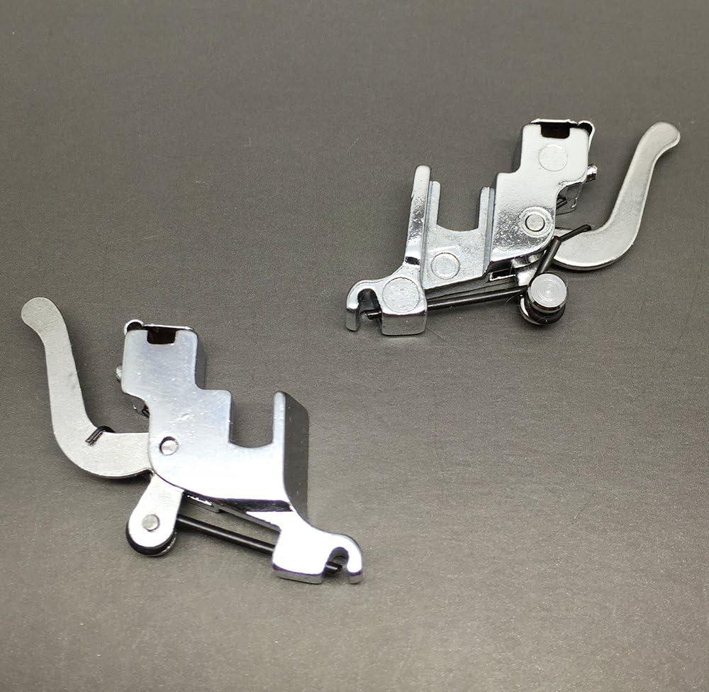 Adaptador de pie de cuello de cisne a presión para la mayoría de máquinas de coser de caña baja: Amazon.es: Hogar