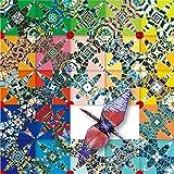 鶴を折ると浮世絵師 葛飾北斎の富嶽三十六景があらわれる「錦折鶴 - 錦折万華鏡」Vol.02