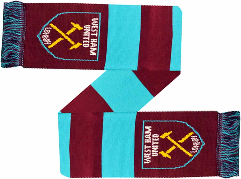 Set Regalo con Sciarpa e Guanti Invernali West Ham United
