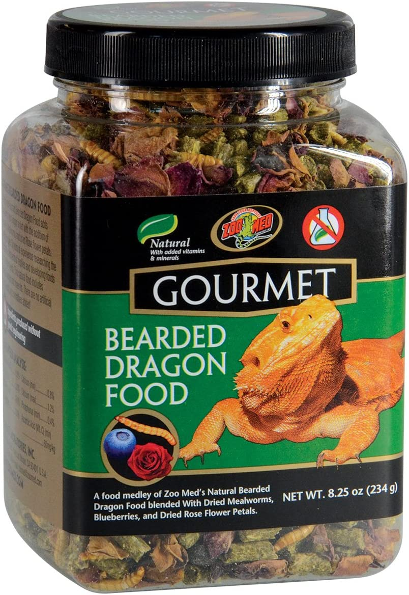 Zoo Med ZM-103 Gourmet Bearded Dragon Food 8.25oz