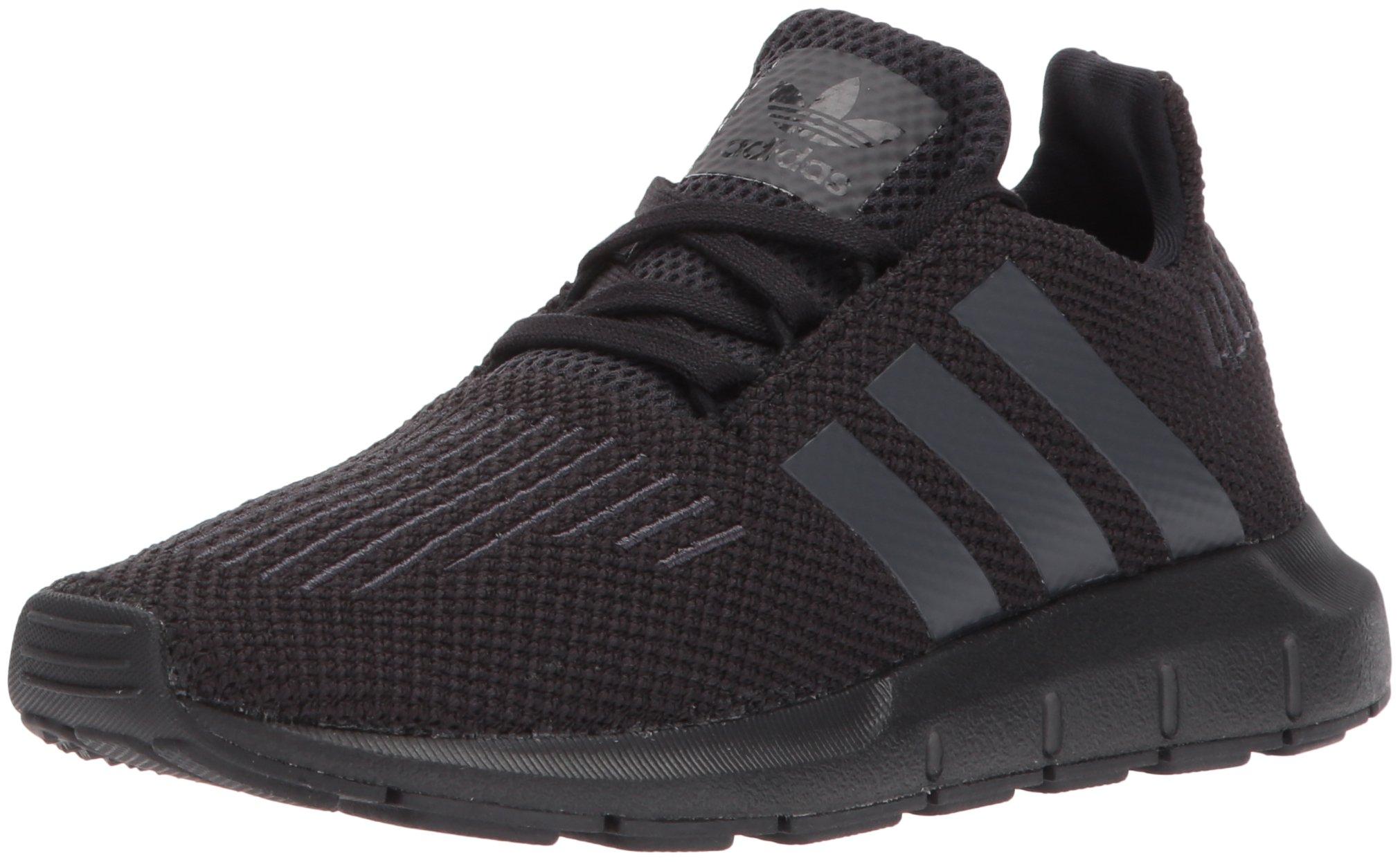 adidas Originals Boys' Swift C Running Shoe, Utility Black, 1.5 Medium US Little Kid