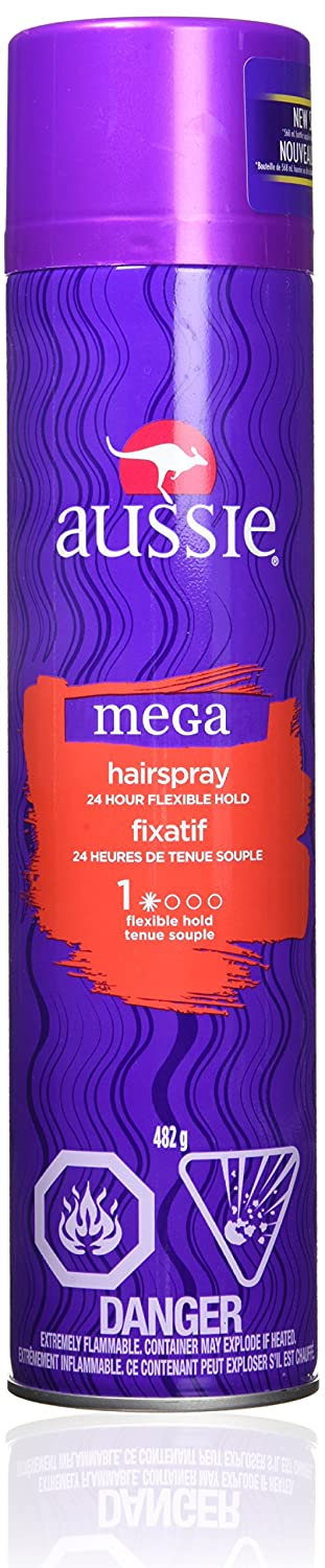 Aussie Mega Moist Shampoo 13.50 oz (Pack of 6) NA