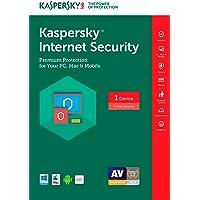 Kaspersky Internet Security 2017 | 1 Device | 1 Year | Download [Online Code]