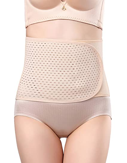 332a615a74 Breathable Adjustable Elastic Abdominal Binder Postpartum Belly Waist Slim  Slimming Shaper Support Girdle Belt Post Pregnancy