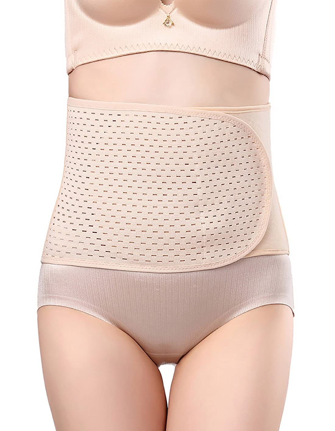 Aivtalk Damen Bauchweg Gürtel Elastisch Postpartum Bauchband Nach Geburt Slimming Belt Korsett für Abnehmen Taillenformer OJFS0186