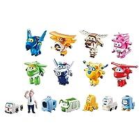 Super Wings - Série 1Collector + 7 Figurines supplémentaires en PVC