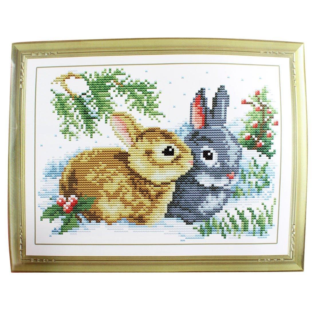 Kit Punto Croce con Coniglietti