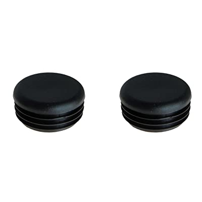 Two Front Bumper Replacement End Cap Plugs OEM 5434191 for Polaris Ranger Models: Automotive