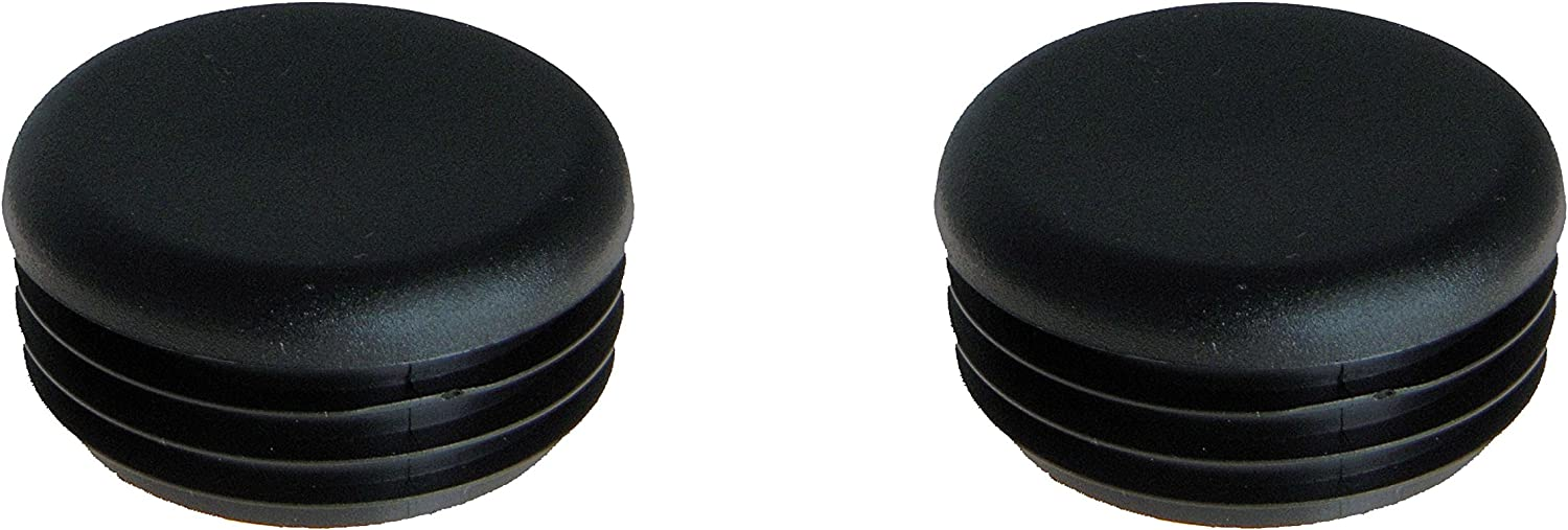 Two Front Bumper Replacement End Cap Plugs OEM 5434191 for Polaris Ranger Models