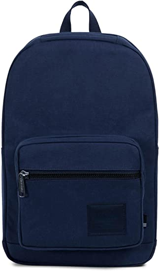 76fbaf5853e Herschel Supply Co Pop Quiz Cotton Canvas Backpack Bag Peacoat Navy   Amazon.in  Bags