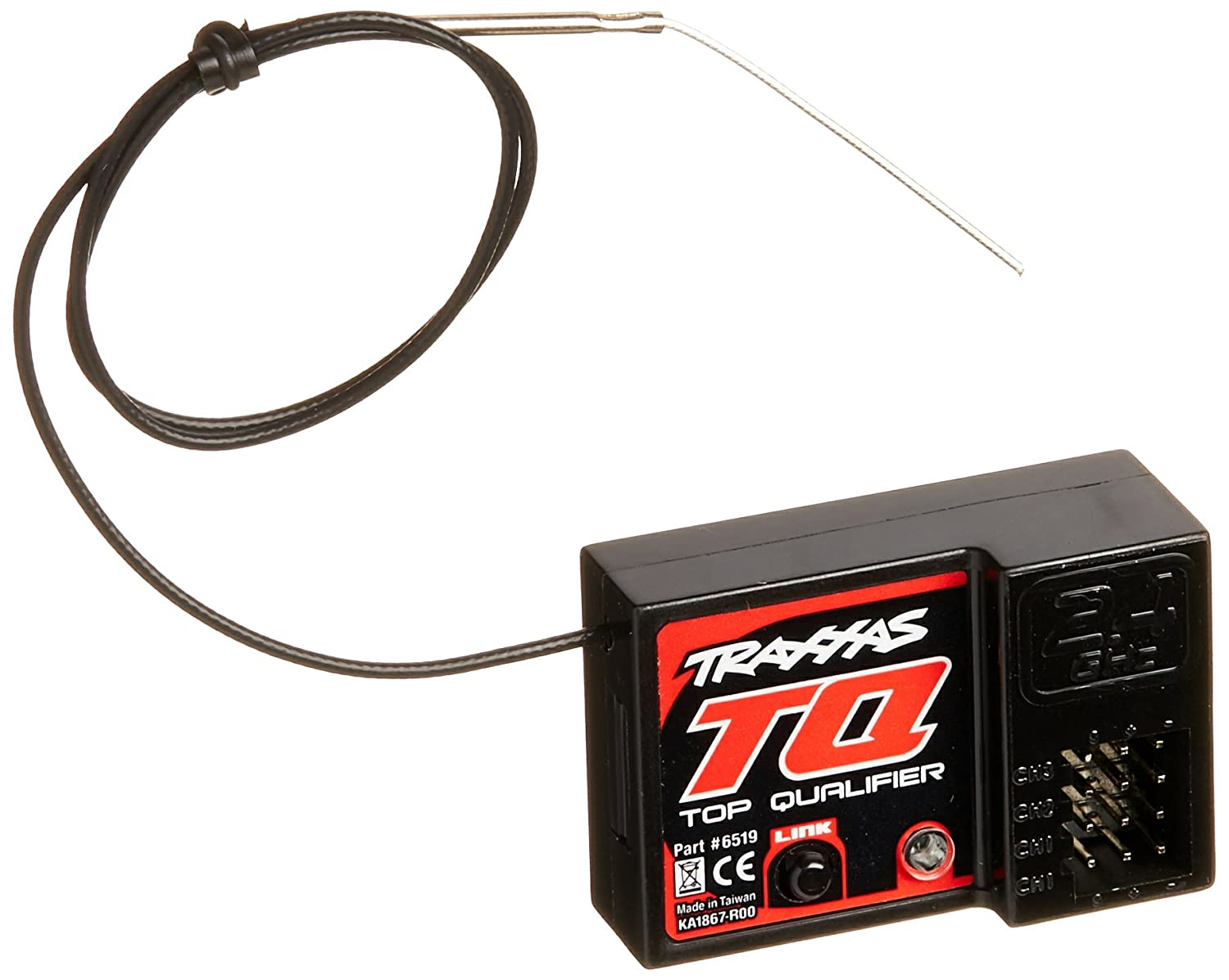 71TtCioizVL._SL1500_ amazon com traxxas 6519 tq 2 4 ghz micro receiver (3ch) toys & games traxxas tq receiver wiring diagram at couponss.co