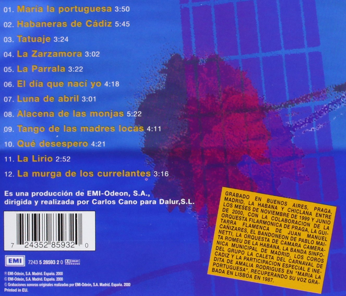 De Lo Perdido Y Otras Coplas: Carlos Cano: Amazon.es: Música