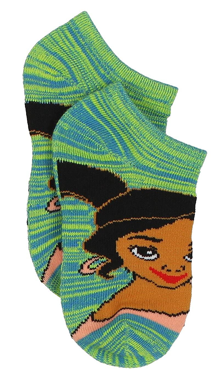 Toddler//Little Kid//Big Kid Princess Elena of Avalor Girls 6 pack Socks