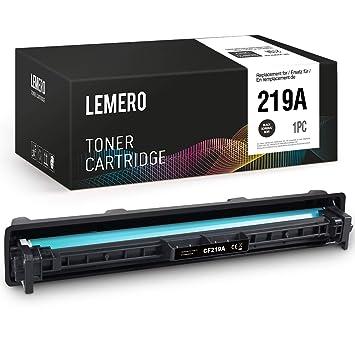 LEMERO - Unidad de Tambor Compatible con HP 19A CF219A para ...