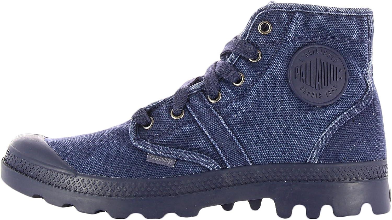 Palladium - Zapatillas de Lona para Hombre Azul Persia 46: Amazon.es: Zapatos y complementos