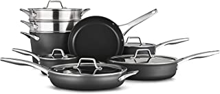 product image for Calphalon Premier Hard-Anodized Nonstick 13-Piece Cookware Set, Black