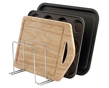 Simplywire   Baking Sheet, Tray U0026 Chopping Board Rack   Pan Holder Storage    Kitchen