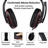 USB Wired Gaming Headsets, JAMSWALL Gaming