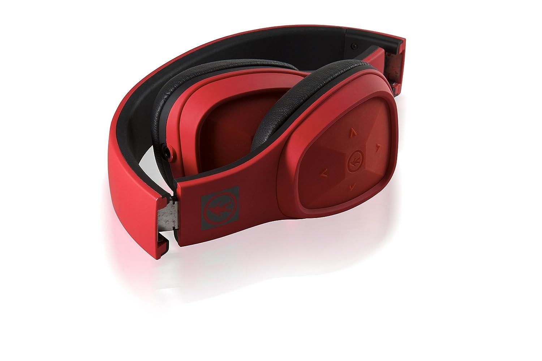 Outdoor Tech Los Cabos - Auriculares de diadema cerrados, con Bluetooth, color negro y rojo: Outdoor Tech: Amazon.es: Electrónica