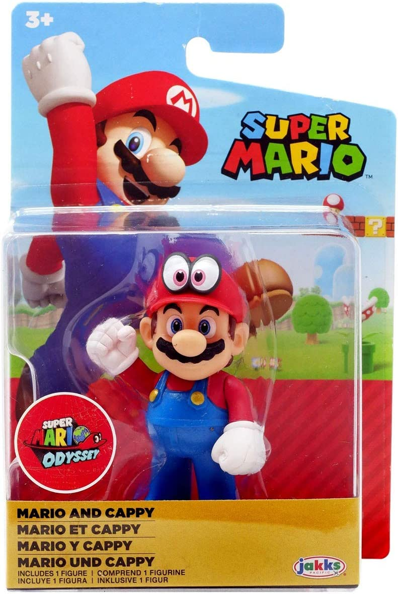 Amazon Com Nintendo Mario And Cappy Super Mario Odyssey 2 5