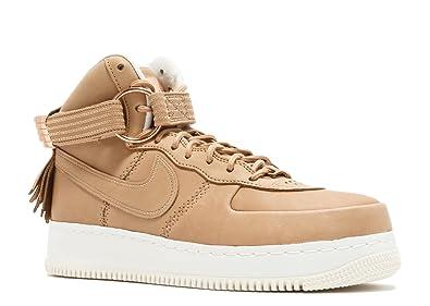 32e1e1e68112 Nike Mens Air Force 1 High SL 5 Decades of Basketball Vachetta Leather Size  9
