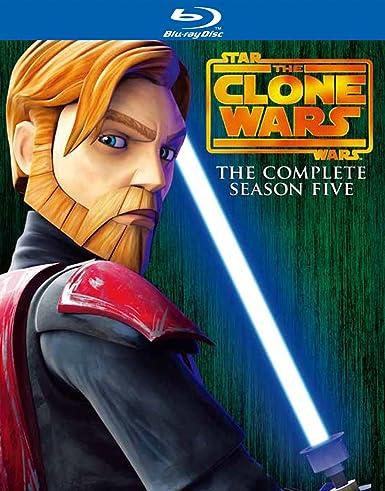 スター・ウォーズ:クローン・ウォーズ フィフス・シーズン コンプリート・ボックス (2枚組)(初回限定生産) [Blu-ray]