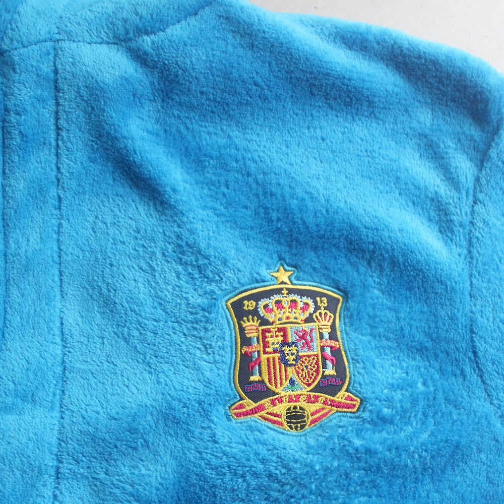 feetoo Spain Football Team Embroidered Boy Bathrobe Childrens Nightgown Robes