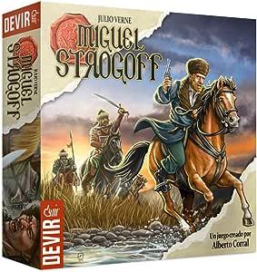 Devir- Miguel Strogoff, Juego de Mesa (BGSTROG): Amazon.es: Juguetes y juegos
