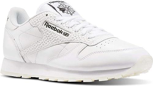 Reebok Classic Leather Scarpe da ginnastica Uomo Bianco
